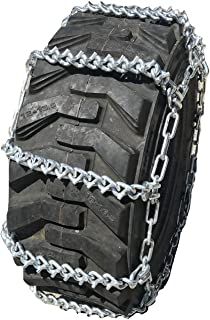 TireChain.com 10 16.5 10-16.5 V-BAR Ladder Tractor Tire Chains Set of 2