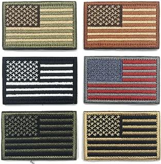 WZT Bundle 6 Pieces American Flag Patch