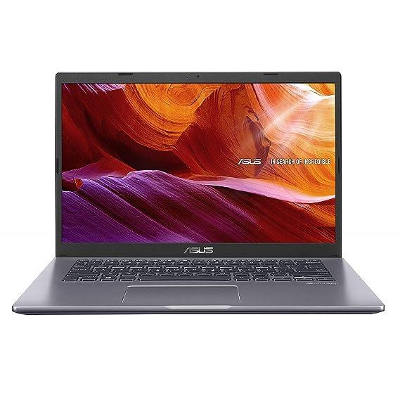 "ASUS VivoBook 14 Intel Core i3-1005G1 10th Gen 14"" (35.56cms) FHD Compact and Light Laptop (4GB RAM/1TB HDD/Windows 10/Integrated Graphics/Slate Grey/1.60 kg), X409JA-EK011T"