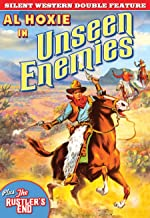 Silent Western Double Feature: Unseen Enemies 1925 The Rustler's End 1928