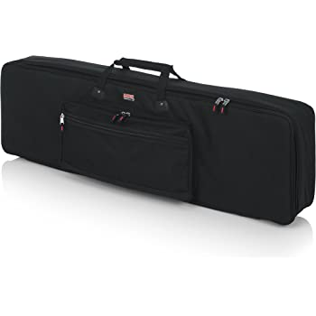 Rockville Padded Slim Durable Keyboard Gig Bag Case For ROLAND GO:PIANO88