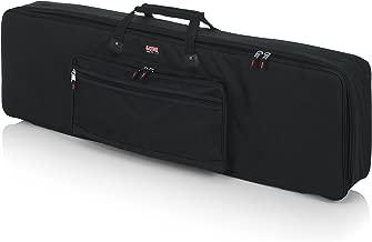 Gator Cases Padded Keyboard Gig Bag; Fits Slim Line 88 Note Keyboards (GKB-88 SLIM)