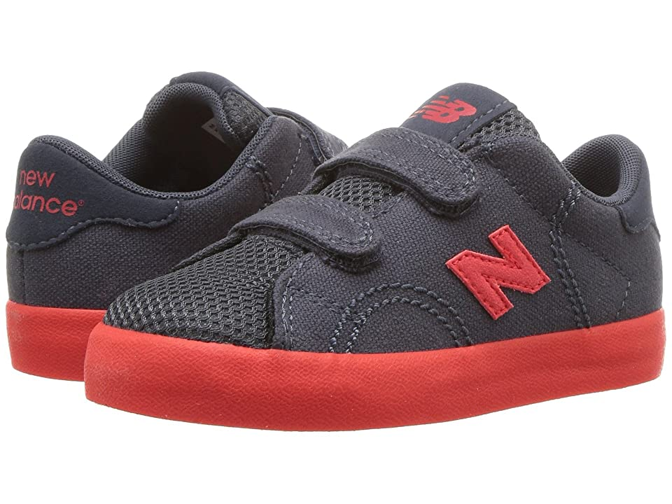 New Balance Kids KVCRTv1I (Infant/Toddler) (Grey/Red) Boys Shoes