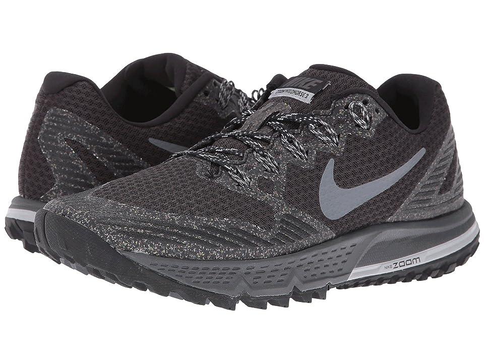 Nike Air Zoom Wildhorse 3 (Black/Dark Grey/Wolf Gray/Cool Gray) Women
