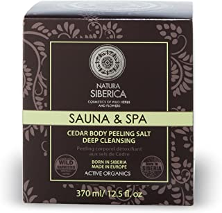 Natura Siberica Sauna Spa Peeling pour Corps aux Sels de Cèdre In