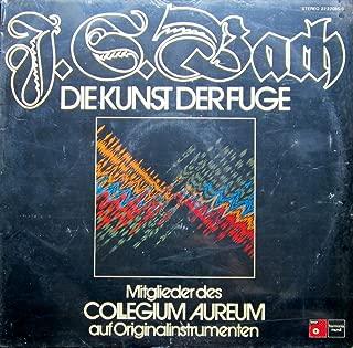 Johann Sebastian Bach - Collegium Aureum - Die Kunst Der Fuge - BASF - 22 22085-0, Harmonia Mundi - 22 22085-0