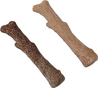 Petstages Dogwood Wood Alternative Dog Chew Toy, Original & Calming 2-Pack