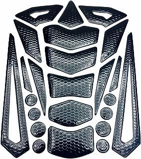Niree Motorcycle Tank Gas Metallic Luster Protector Pad Sticker Decal for Honda CBR 600 F2,F3,F4,F4i CB599 / CB600 HORNET CB919 CBR900RR VTX1300 NC700 S/X (C01#)