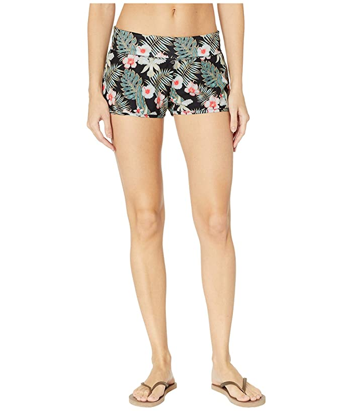 Roxy Endless Summer Print Boardshorts (Anthracite Tropicalababa) Women