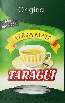 Taragui Yerba Mate - 20 Tea Bags - Yerba Mate en Saquitos