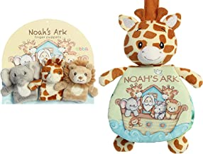 Ebba Noah's Ark Soft Book and Finger Puppets for Toddlers Bundle Set of 4 - 9