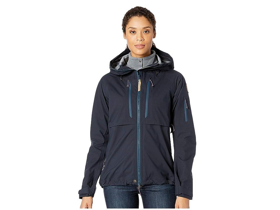 Fjallraven Keb Eco-Shell Jacket W (Dark Navy) Women