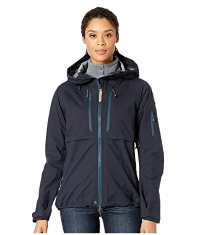 Fjallraven Keb Eco-Shell Jacket W (Dark Navy) Women