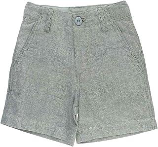 869e454a1ae921 RuggedButts Infant Toddler Boys Gray Chambray Shorts