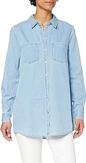 Vero Moda Vmmila LS Long Shirt Mix Ga Color Blusas para Mujer