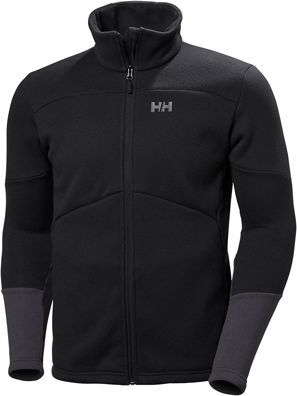 Helly-Hansen Eq Black Midlayer Jacket
