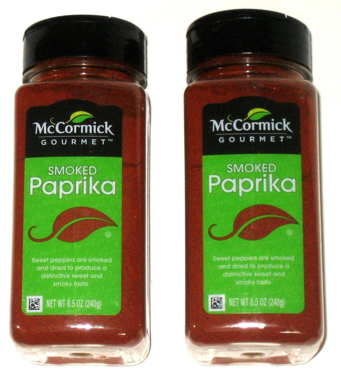 Indefinitely McCormick Gourmet SMOKED overseas PAPRIKA 8.5oz 2 Pack