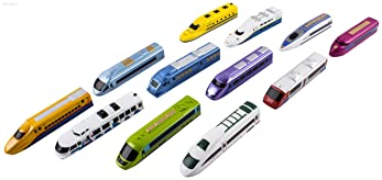 WolVol (Set of 12) Bundle Pull Back Toy Trains for Kids - Also perfect for party favor