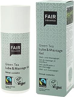 Fair Squared Green Tea Lube & Massagegel, vegansk glidmedel, 1 x 150 ml