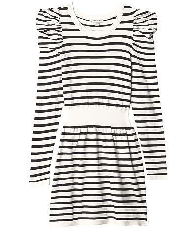 HABITUAL girl Puff Sleeve Sweater Knit Dress (Big Kids) Girl