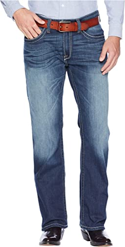 M4 Low Rise Bootcut Tekstretch Jeans in Brackish