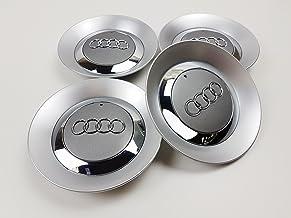 Juego de 4 tapas centrales con nuevo logotipo para tapacubos de rueda con llanta de aleación de 16 pulgadas 8E0601165 [2001-2004]