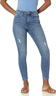 [The Drop] Jeans Fairfax アンクル スキニージーンズ ハイライズ 定番アイテム レディース