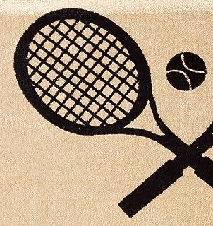 Seat Armour (SA100TRCQT) Tan 'Tennis Racquet' Seat Protector Towel
