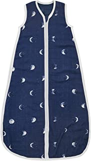 aden + anais Silkeslen mjuk baby sovsäck, bärbar inlindningsfilt för flickor och pojkar, nyfödd bambu muslin sovsäck, anda...