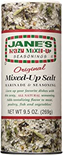 Jane's Krazy Mixed-Up Original Salt Blend 9.5 oz (Pack of 2)