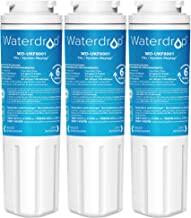 Waterdrop UKF8001 Water Filter, Compatible with EveryDrop Filter 4, EDR4RXD1, Whirlpool UKF8001AXX-750, Maytag UKF8001P, UKF8001AXX-200, 4396395, 46-9005, 46-9006, Puriclean II, 3 Filters