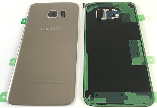 Tapa trasera Gorilla Glass, para Samsung Galaxy S7 G935, con adhesivo, pieza de repuesto (no compatible con Galaxy S7 Edge G930): Amazon.es: Electrónica