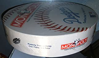La Dodgers Monopoly Game in Baseball Round, Collector's Edition