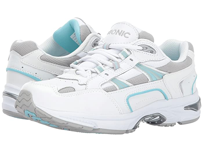 VIONIC  Walker (White/Blue) Womens Lace up casual Shoes