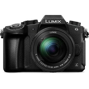 """Panasonic Lumix DMC-G80M - Cámara EVIL de 16 MP, Pantalla de 3"""", Estabilizador Óptico de 5 Ejes, Visor OLED, RAW, Wi-Fi, 4K, Kit con Objetivo Lumix Vario 12 - 60 mm/F3.5-5.6, Color Negro"""