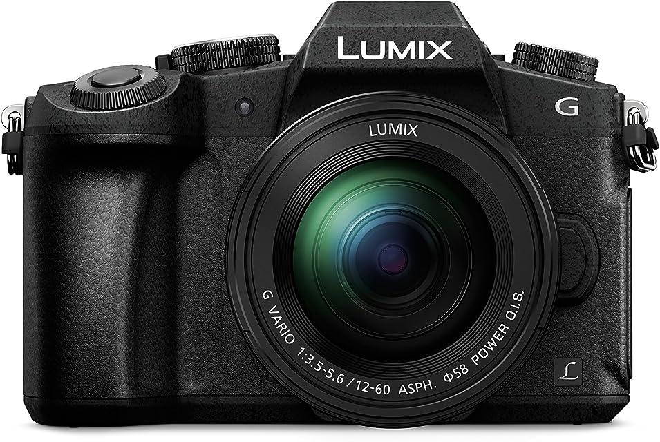 Panasonic Lumix DMC-G80M - Cámara EVIL de 16 MP Pantalla de 3 Estabilizador Óptico de 5 Ejes Visor OLED RAW Wi-Fi 4K Kit con Objetivo Lumix Vario 12 - 60 mm/F3.5-5.6 Color Negro