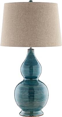 Stein World 99784 Harriett Turquoise Blue Table Lamp, Turquoise Blue