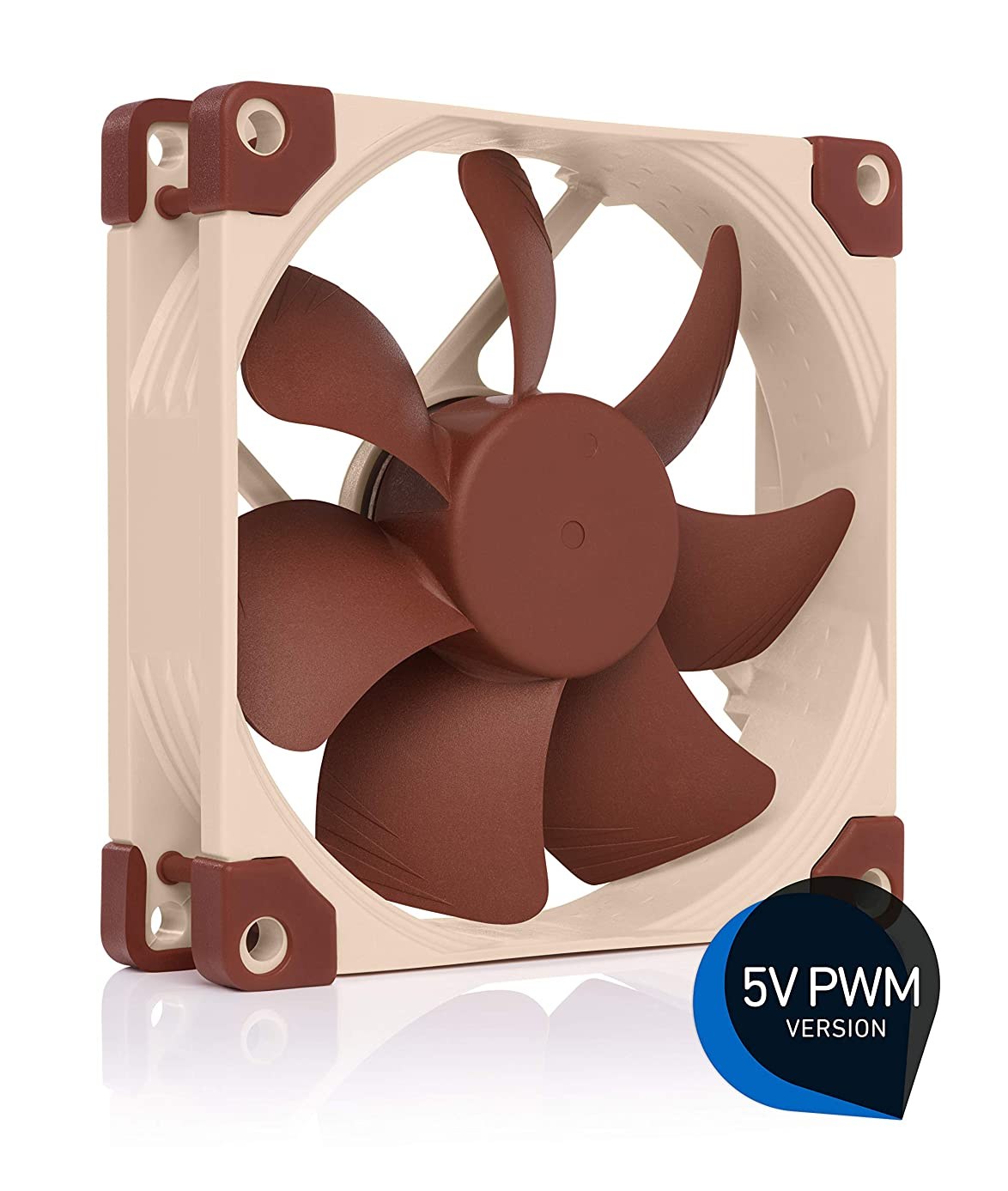 Noctua NF-A9 5V PWM, Premium Quiet Fan with USB Power Adaptor Cable, 4-Pin, 5V Version (92mm, Brown)