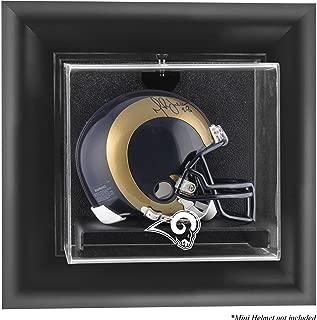Mounted Memories St. Louis Rams Wall Mounted Mini Helmet Display Case - St.Louis Rams One Size