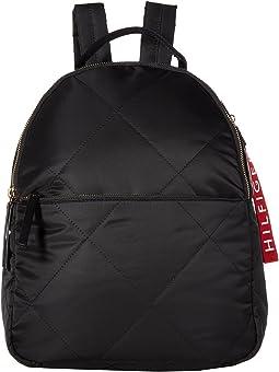 Kensington Quilt Nylon Backpack
