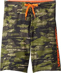 Grit 1/2 Back Elastic Boardshorts (Big Kids)