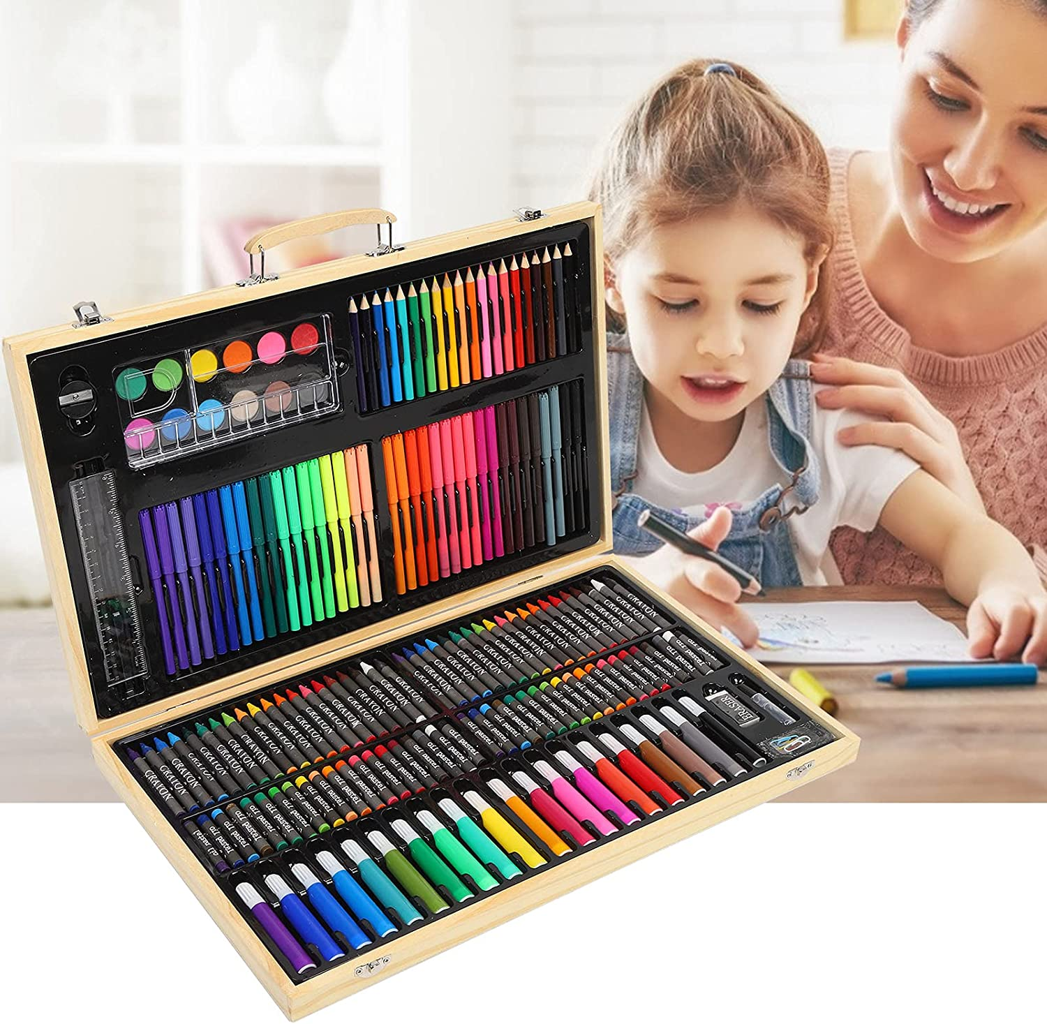 Art Set Painting Limited time for free shipping and Special sale item Color Watercolor Drawing Sets