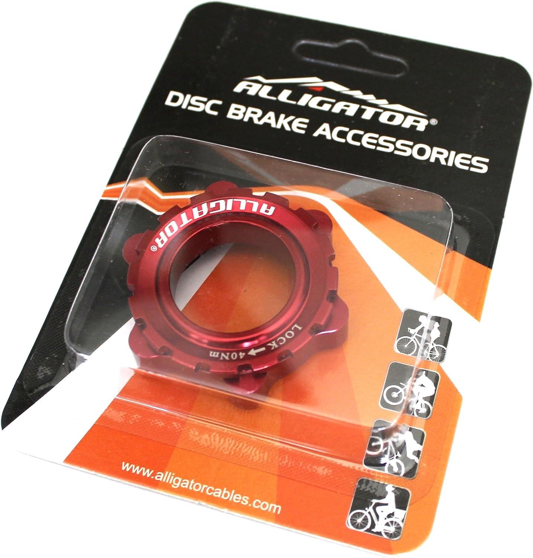 Bicycle Center Lock Disc Brake Hub Rotor Lockring for 9mm 12mm15mm Axle Cen Q9C4