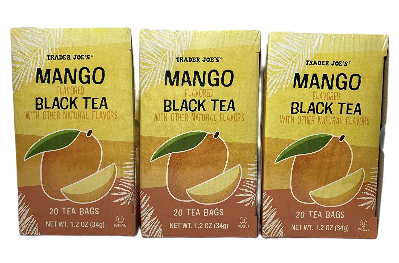 Trader Joes Import Mango Black Tea Max 82% OFF 3-pack