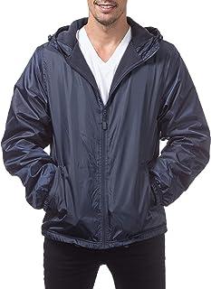 Pro Club Fleece Lined Windbreaker Jacket
