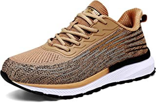 Men's Running Shoes Lightweight Non Slip Sneakers Breathable Walking Fashion Athletic Gym Tennis Shoes