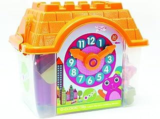 OOPS 13109 kolekcja O-Clock Learn The Time Forest budynek klocki, wielokolorowe