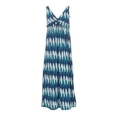 Kickee Pants Plus Size Print Simple Twist Nightgown (Navy Forestry) Women
