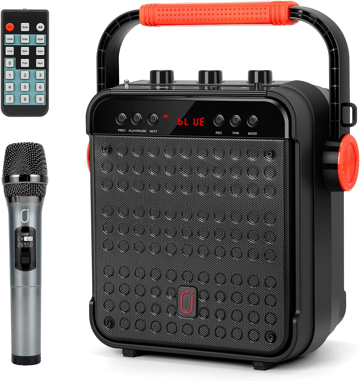 JYX Portable 25% OFF Karaoke Machine Wireless Microphone with National products Bluetooth