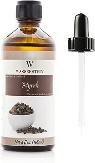 Wasserstein Aromatherapy Essential Oil, 100% Pure, 4 oz, Myrth